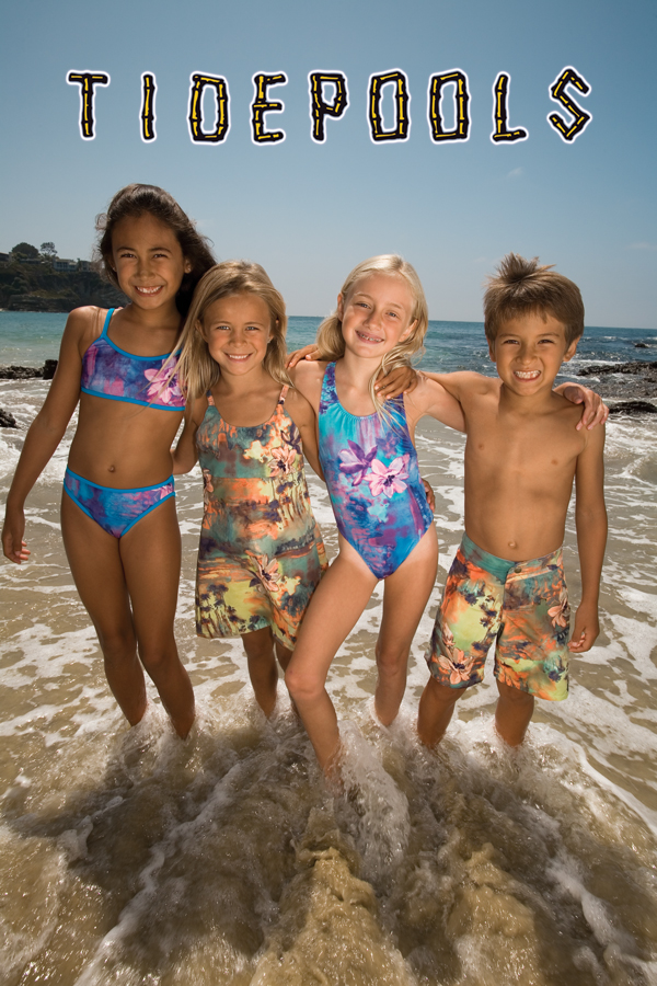 Sol Swim Girls Pretty Sea Horses 3 Pc Rashguard Set Solo International Inc Baby 224